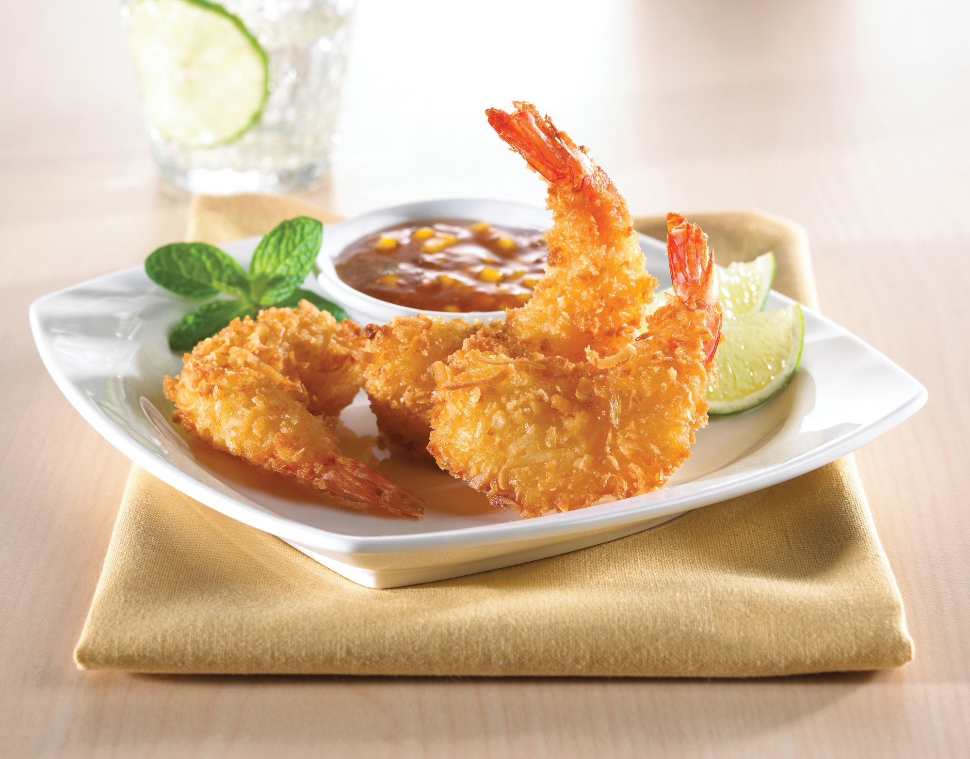 Mrs. Friday's Coconut Round Shrimp