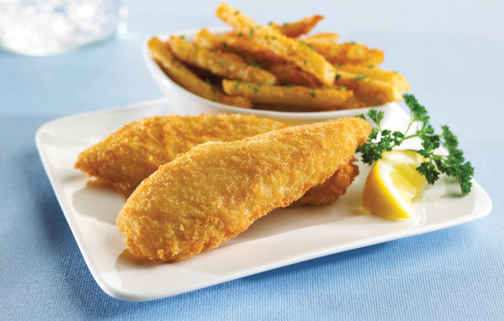 Panko Breaded Pollock Fillets 2 3 Oz King And Prince Seafood King And Prince Seafood