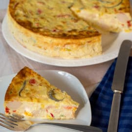 Lobster and Seafood Frittata