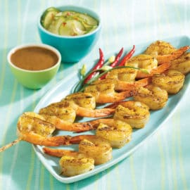King & Prince Grillmaster Skewered Shrimp