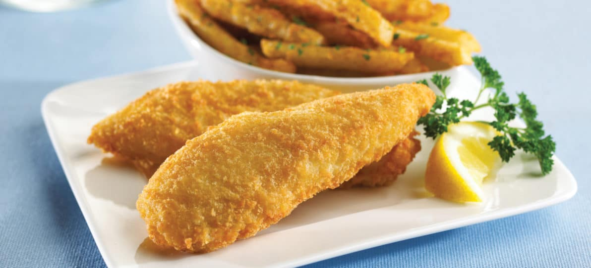 Panko Breaded Pollock Fillets 3 4 Oz King And Prince Seafood King And Prince Seafood