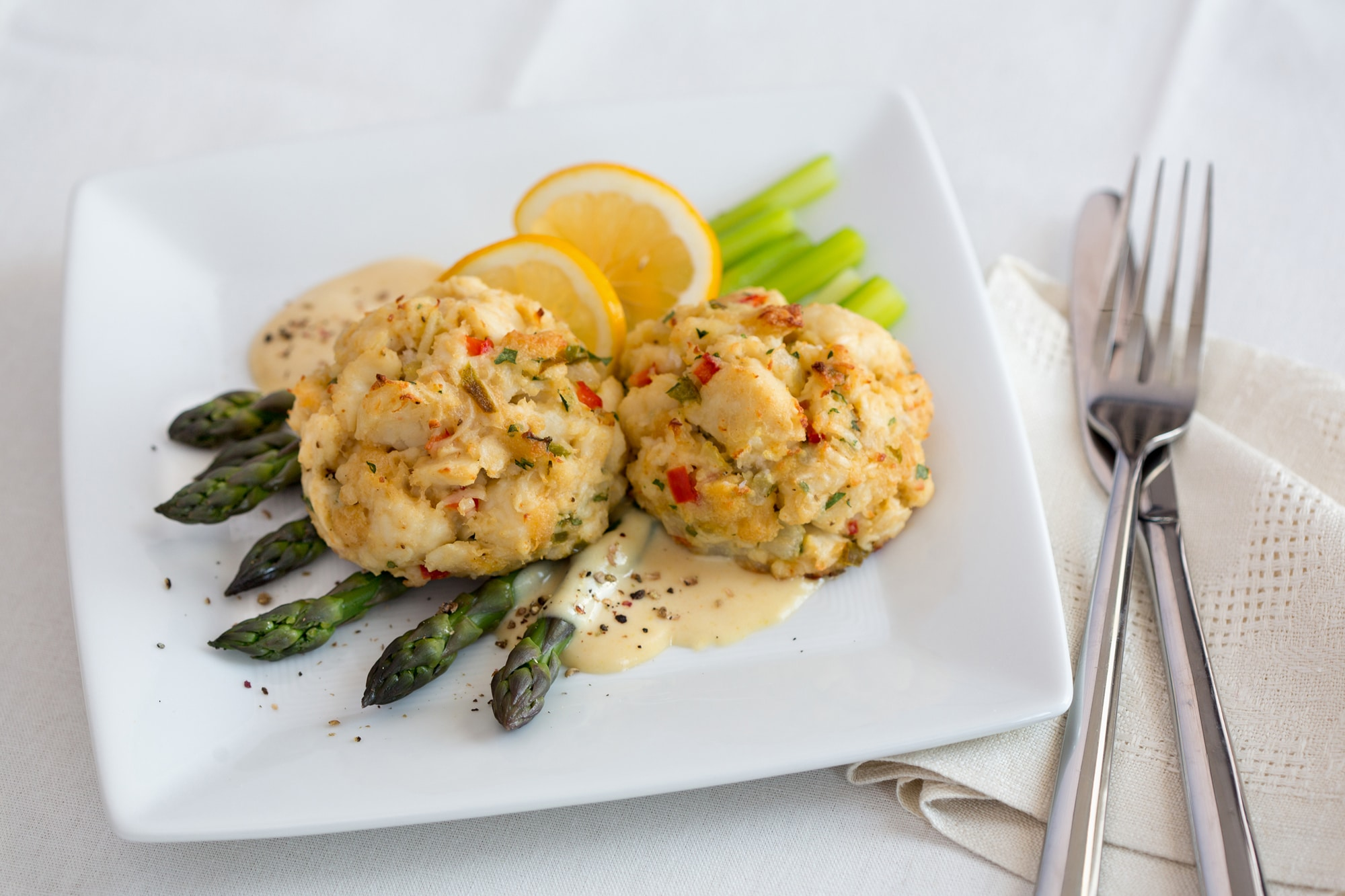 Cooking Crab Cake Cionvection Oven