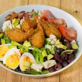 Stuffed Shrimp Cobb Salad