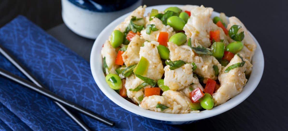 Asian Pacific Crab & Seafood Salad