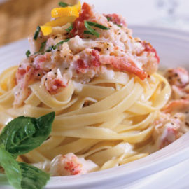 Lobster and Seafood Linguine