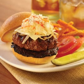 Gourmet Surf 'n Turf Burger Lobster Sensations®