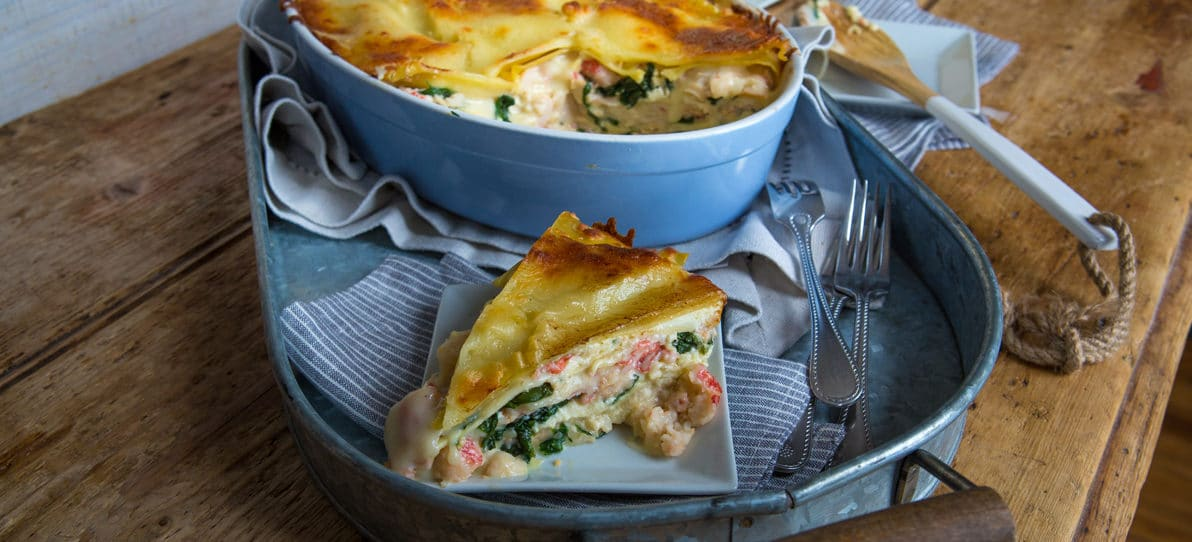 Lobster & Seafood Lasagna - Recipe | King and Prince Seafood